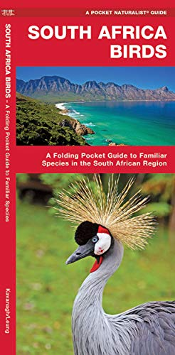 South Africa Birds: A Folding Pocket Guide to Familiar Species in the South African Region (Wildlife and Nature Identification) (Types Of Wild Animals In South Africa)