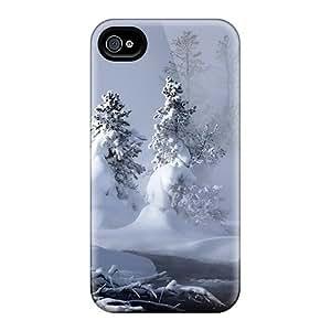 JosareTreegen Cases Covers For Iphone 6plus - Retailer Packaging Mystic Winter Hdtv Protective Cases