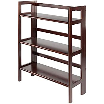 NEW Casual Home Mission Style 3-Shelf Bookcase FREE2DAYSHIP TAXFREE