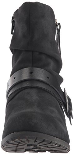 Jellypop Womens Lima Slouch Laars Black Distress Small