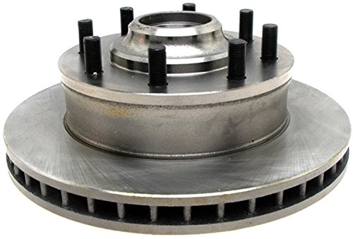 ACDelco 18A63A Advantage Non-Coated Front Disc Brake Rotor and Hub Assembly ()