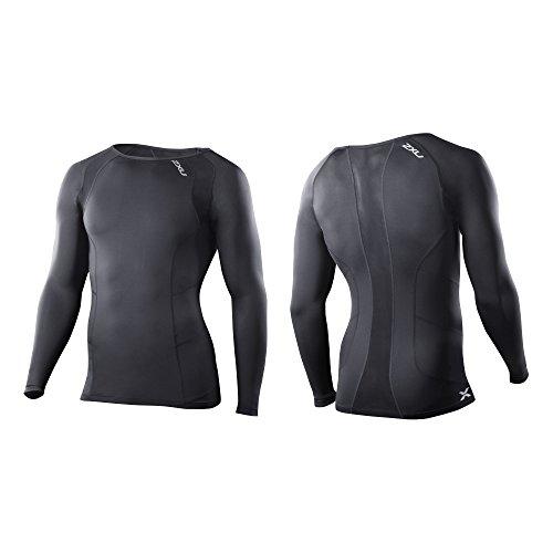 Compression Manches shirt U 2 Black nbsp;x T Longues fqHPfYFw