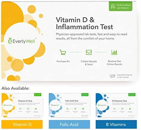 EverlyWell at Home Vitamin Inflammation Available