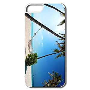 Funny Maldives Islands Plastic Case For IPhone 5/5s by lolosakes