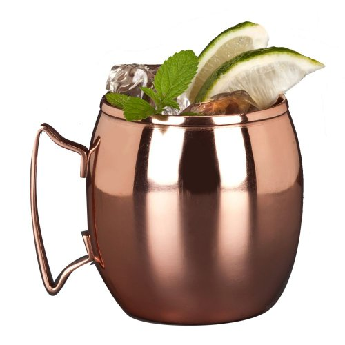 World Tableware CMM-100 Copper Mug, 14 oz. (Pack of 12) by World Tableware