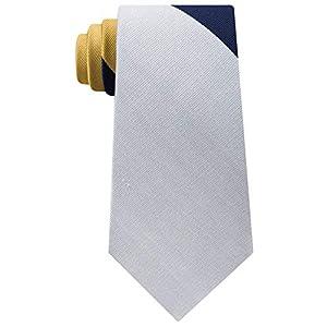 Tommy Hilfiger Mens Silk Colorblock Neck Tie