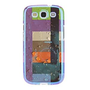 hao Colorful Fringe Pattern Hard Case for Samsung Galaxy S3 I9300