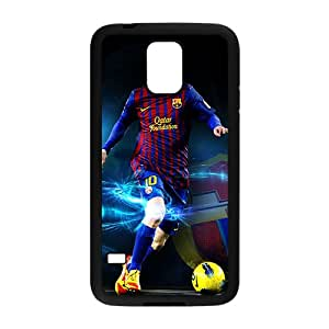 Soccer Celebrity Lionel Messi Black Phone Case for Samsung Galaxy S5