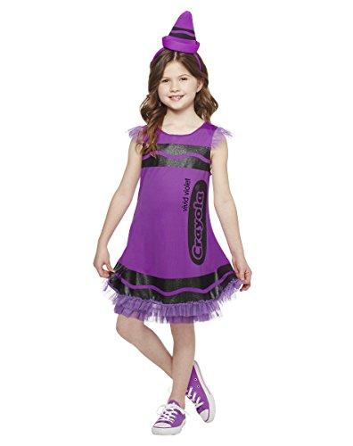 [Spirit Halloween Kids' Crayon Dress Costume - Crayola] (Halloween Costumes At Spirit Halloween)