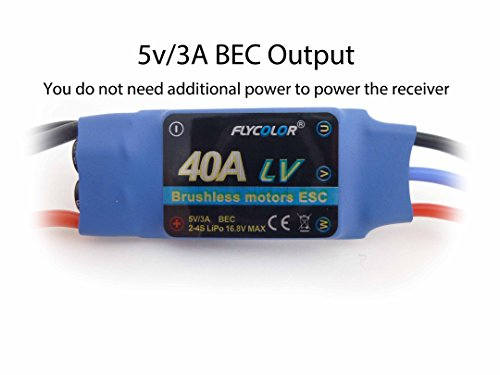 Review 40A RC Brushless Motor