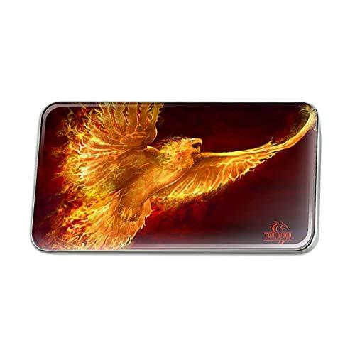 GRAPHICS & MORE Phoenix Firebird Flaming Fire Bird Rising Fantasy Rectangle Lapel Pin Tie Tack