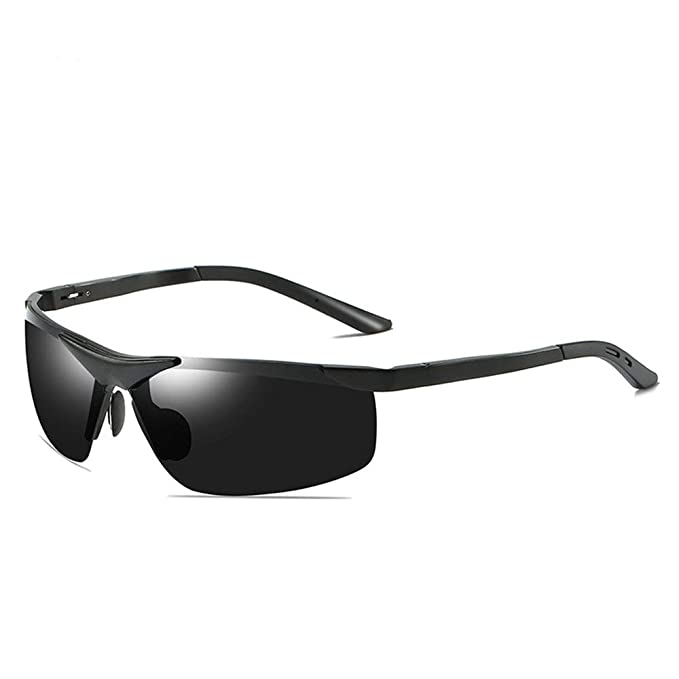 6dfc97755e Gafas de conducción para la noche para hombres, gafas de sol con protección  UV 100