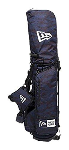 ニューエラ ゴルフ スタンド キャディバッグ タイガーストライプカモ 迷彩 黒 鞄 NEWERA GOLF STAND CADDIE BAG TIGER STRIPE CAMO 11404363 B06X8Z495F