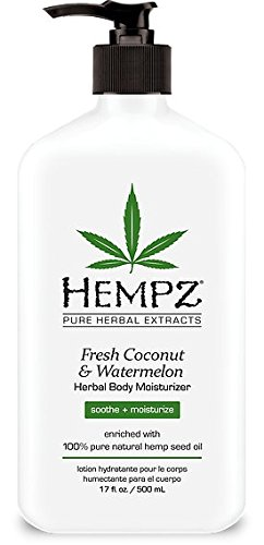 Hempz Lotion 17 oz - Fresh Coconut & Watermelon. Buy 5 any flavors get 1 Diamond super fast drying top coat 0.5 oz free.
