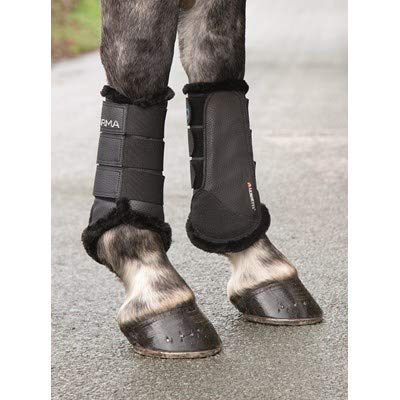 Shires ARMA Fur Lined Brushing Boots Full