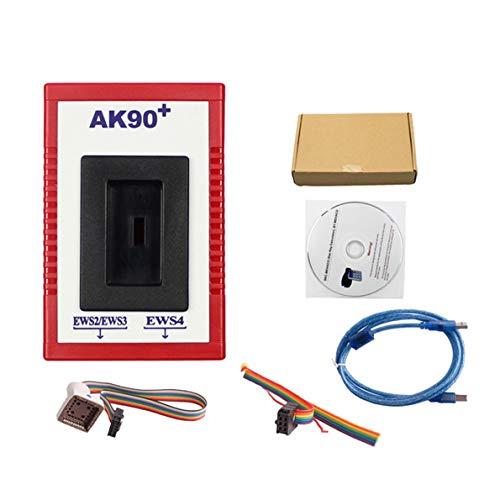 Crispsound Professional AK90 Auto Car Key Programmer for BMW EWS AK90 with Cable Key Programming Kit Identifying ()