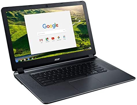 2018 Acer CB3-532 15.6″ HD Chromebook with 3x Faster WiFi, Intel Dual-Core Celeron N3060 up to 2.48GHz, 2GB RAM, 16GB SSD, HDMI, USB 3.0, Webcam, 12-Hours Battery, Chrome OS 41N72PWNk4L