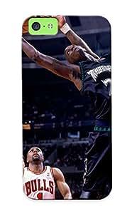 Awesome F8164842418 Crooningrose Defender Tpu Hard Case Cover For Iphone 5c- Minnesota Nba Basketball Kevin Garne Chicago Bulls Minnesota Timberwolves Steve Kerr