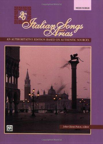 26 italian songs and arias high - 9