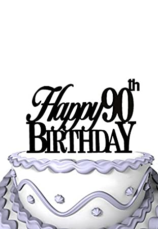 Image Unavailable Not Available For Color Meijiafei Happy 90th Birthday Cake