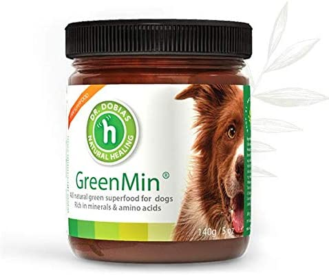 DR. DOBIAS GreenMin for Dogs – All Natural Mineral and Amino-Acid Rich superfood, up to 5 Months Supply