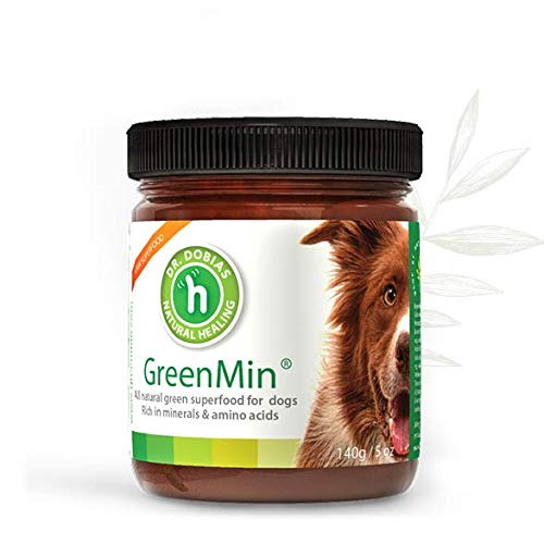 DR. DOBIAS GreenMin Dogs - All Natural Mineral Supplement, Made in The USA by DR. DOBIAS