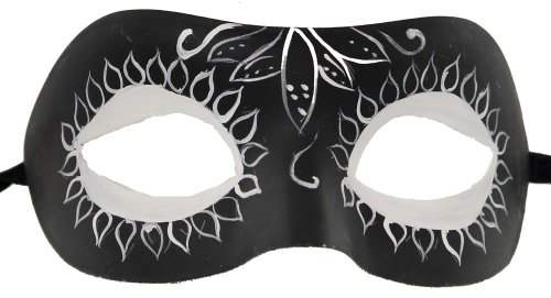 RedSkyTrader Men's Masquerade Day Of the Dead Mask (Day Of Dead Mask)