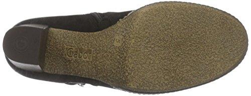 Gabor Comfort Sport 32.874 - botas de cuero mujer Negro (micro 47)