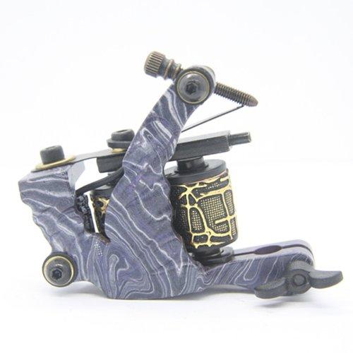 Getbetterlife 10 Wrap Coils Iron Shader Gun Tattoo Machine from Getbetterlife