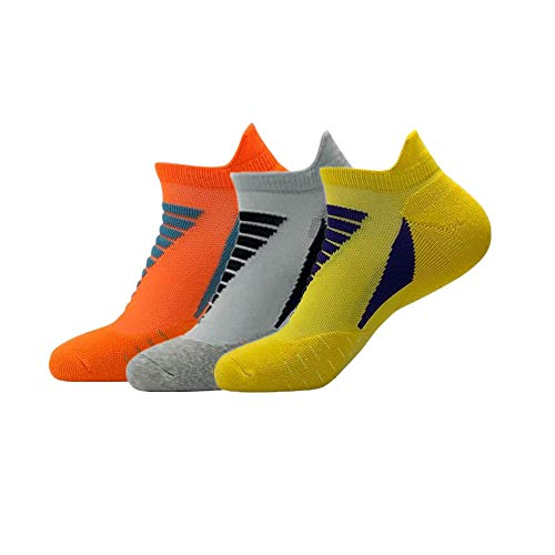 Running Socks Casual Low Cut Cycling Ankle Socks Outdoor Sports Socks 3 Pairs Large Size