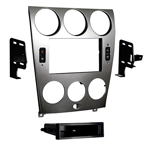 Metra 99-7523S 2003-2005 Mazda 6 Double and ISO DIN Radio Install Kit Double Iso Din Kit