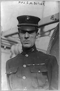 Smedley Darlington Butler,1881-1940,Major General,U.S INFINITE PHOTOGRAPHS Photo Marine Corps
