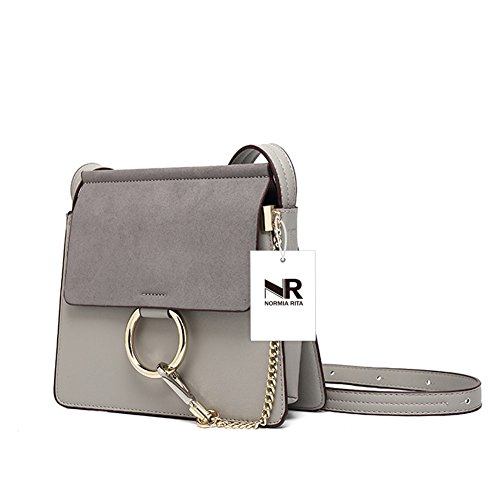 Clutch Rita for Women's Bags Grey Shoulder Elegant Fashion Body middle Handbags Women Evening Purses Normia Cross TzgwqT