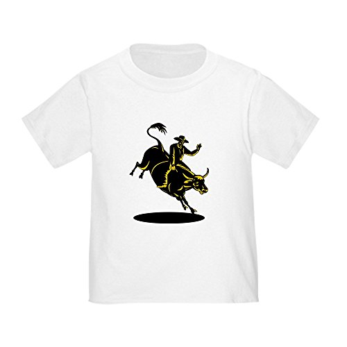 CafePress cowboy riding Toddler T Shirt