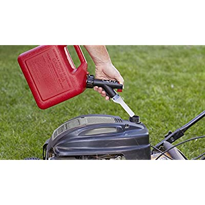 GARAGE BOSS GB320 Briggs and Stratton Press 'N Pour Gas Can, 2+ Gallon, Red: Automotive