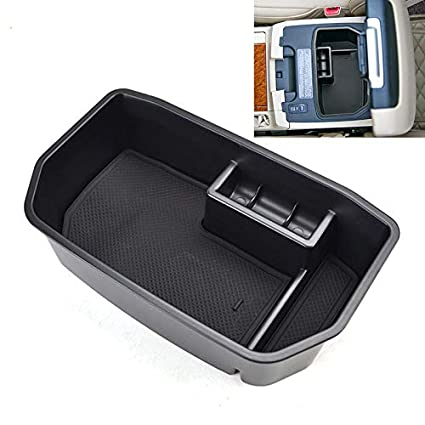 amazon com: xukey armrest storage box for lexus lx570 for toyota land  cruiser 2008-2018 center console bin glove tray holder case car organizer:  automotive