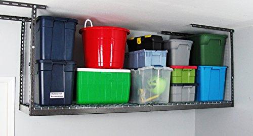 MonsterRAX - 2x8 Overhead Garage Storage Rack (24''-45'') by MonsterRax