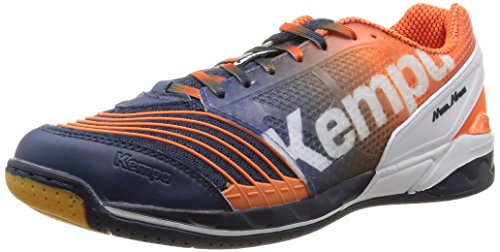 de Kempa Blanc Marine Handball Homme Orange Chaussures Attack One Bleu ppwZnx4fHq