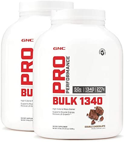 GNC Pro Performance Bulk 1340 – Double Chocolate – Twin Pack