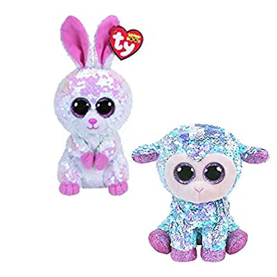 TY FLIPPABLE Set for Easter - Tulip & Bonnie: Toys & Games