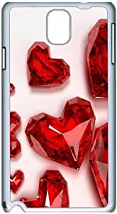 Fashion Designed Pattern Protevtive Hard Back Case Cover for Samsung Galaxy Note3 N9000 Cool Ruby