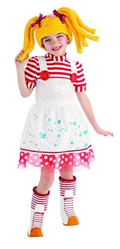Lalaloopsy Deluxe Spot Splatter Splash Costume - -