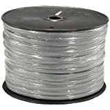 InstallerParts 1000 Ft 8 Conductor Silver Satin Modular Cable Reel 28AWG