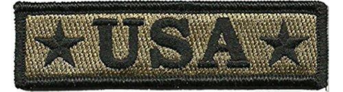 U.S.A. Tactical Morale Patch - Coyote Tan