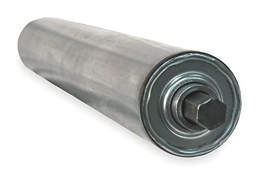Steel Replacement Roller, 2-5/8InDia, 23BF by Ashland Conveyor (Image #1)