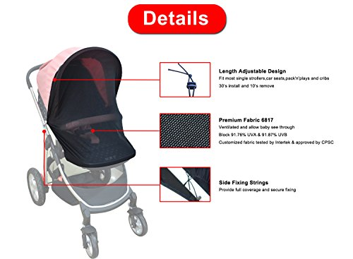 The 8 best stroller covers for sun
