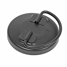 Jaz Products 340-300-09 12-Hole Steel D-Ring Replacement Raised Fuel Cell Cap