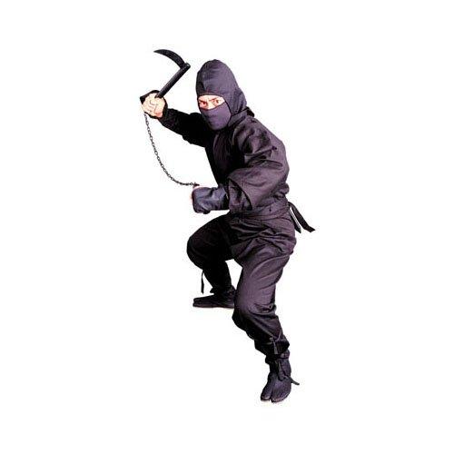 (Tiger Claw Ninja Uniform - Black - Large)