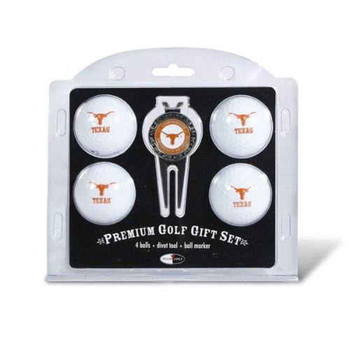 Texas Longhorns Golf Ball & Divot Tool Set by Team Golf