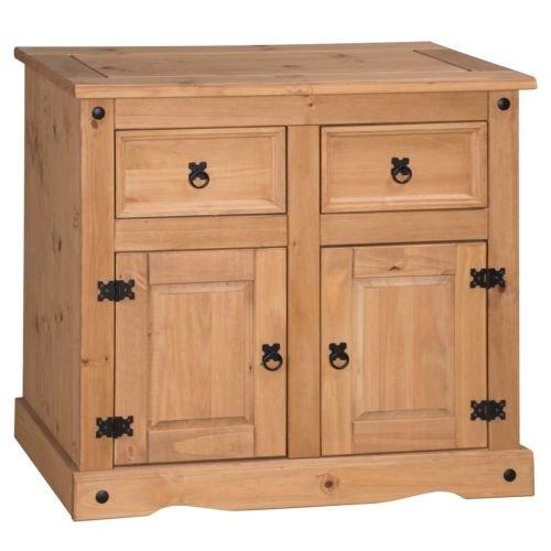 Mercers Furniture Corona 2 Door 2 Drawer Small Sideboard